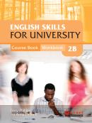 ENGLISH SKILLS FOR UNIVERSITY LEVEL 2B COMBINED COURSE BOOK AND WORKBOOK WITH AUDIO CDS