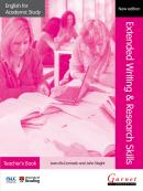 ENGLISH FOR ACADEMIC STUDY EXTENDED WRITING  RESEARCH SKILLS TEACHERS BOOK