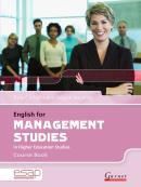 ENGLISH FOR MANAGEMENT STUDIES COURSE BOOK WITH AUDIO CDS