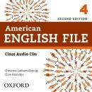 AMERICAN ENGLISH FILE 4 CLASS CD - 2ND ED