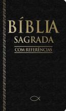 BIBLIA SAGRADA COM REFERENCIAS PRETA