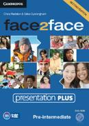 FACE2FACE PRE-INTERMEDIATE PRESENTATION PLUS DVD-ROM - 2ND ED