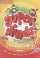 SUPER MINDS AMERICAN ENGLISH STARTER PRESENTATION PLUS DVD-ROM - 1ST ED