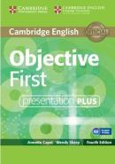 CAMBRIDGE ENGLISH OBJECTIVE FIRST PRESENTATION PLUS DVD-ROM - 4TH ED