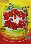 SUPER MINDS BRITISH STARTER PRESENTATION PLUS DVD-ROM - 1ST ED