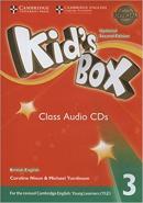 KIDS BOX 3 CLASS AUDIO CD - BRITISH - UPDATED 2ND ED