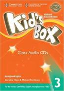 KIDS BOX AMERICAN ENGLISH 3 CLASS AUDIO CD - UPDATED 2ND ED