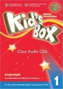 KIDS BOX AMERICAN ENGLISH 1 CLASS AUDIO CD - UPDATED 2ND ED