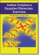 ANALISE COMPLEXA E EQUACOES DIFERENCIAIS - EXERCICIOS