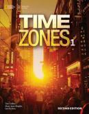 TIME ZONES 1A+STARTER COMBO SPLIT - 2ND ED