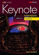 KEYNOTE INTERMEDIATE WORKBOOK WITH AUDIO CD - BRITISH