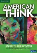 AMERICAN THINK STARTER STUDENT´S BOOK  WITH ONLINE WORKBOOK AND ONLINE PRACTICE - 1ST ED