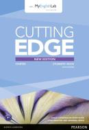 CUTTING EDGE STARTER NEW EDITION STUDENTS BOOK WITH DVD AND MYLAB PACK