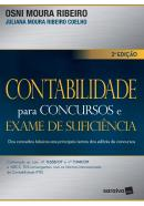 CONTABILIDADE PARA CONCURSOS E EXAME DE SUFICIENCIA - 2ª ED  - SRU - SARAIVA UNIVERSITARIO & TECNICO