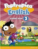 POPTROPICA ENGLISH 3 SB AND ONLINE WORLD ACCESS CARD PACK - AMERICAN