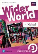 WIDER WORLD 3 SB WITH MYENGLISHLAB PACK - 1ST ED