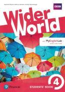 WIDER WORLD 4 SB WITH MYENGLISHLAB PACK - 1ST ED