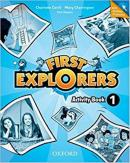 FIRST EXPLORERS 1 ACTIVITY BOOK WITH ONLINE PRACTICE - 1ST ED