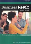 BUSINESS RESULT PRE-INTERMEDIATE SB - 2ND ED