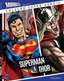 COLECAO SUPER-HEROIS 4 - SUPERMAN E THOR