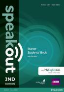 SPEAKOUT STARTER SB WITH DVD-ROM AND MYENGLISHLAB ACCESS CODE PACK - 2ND ED