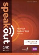 SPEAKOUT ADVANCED SB WITH DVD-ROM AND MYENGLISHLAB ACCESS CODE PACK - 2ND ED