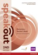 SPEAKOUT ELEMENTARY TEACHERS GUIDE WITH RESOURCE  ASSESSMENT DISC PACK - 2ND ED