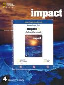 IMPACT 4 - STUDENT BOOK WITH ONLINE WORKBOOK - BRITISH - 1ST ED