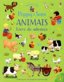 POPPY E SAM - ANIMAIS - LIVRO DE ADESIVOS