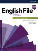 ENGLISH FILE BEGINNER SB WITH ONLINE PRACTICE - 4TH ED.