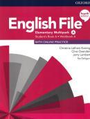 ENGLISH FILE ELEMENTARY A SB/WB MULTIPACK - 4TH ED.