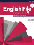 ENGLISH FILE ELEMENTARY B SBWITH MULTIPACK - 4TH ED.