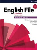 ENGLISH FILE ELEMENTARY SB WITH ONLINE PRACTICE - 4TH ED.