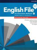 ENGLISH FILE PRE-INTERMEDIATE A SB/WB MULTIPACK - 4TH ED.