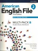 AMERICAN ENGLISH FILE 2B - MULTI-PACK WITH ONLINE PRACTICE - 3RD ED