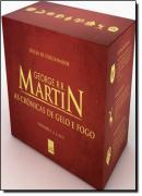 BOX - AS CRONICAS DE GELO E FOGO - EDICAO DE LUXO LIMITADA
