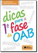 DICAS PARA A 1º FASE DA OAB