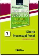 DIREITO PROCESSUAL PENAL - VOL 7