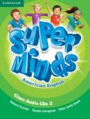 SUPER MINDS AMERICAN ENGLISH 2 CLASS AUDIO CDS - 1ST ED