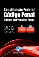 CODIGO 3 EM 1 - CONSTITUIÇAO FEDERAL - CODIGO PENAL - CODIGO DE PROCESSO PENAL