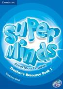 SUPER MINDS AMERICAN ENGLISH 1 TEACHERS RESOURCE BOOK WITH AUDIO CD - 1ST ED