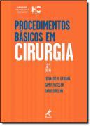PROCEDIMENTOS BASICOS EM CIRURGIA - 2ª EDICAO