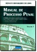 MANUAL DE PROCESSO PENAL - VOL .1   - 2ª EDICAO