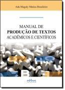 MANUAL DE PRODUCAO DE TEXTOS ACADEMICOS E CIENTIFICOS