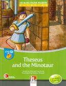 THESEUS AND THE MINOTAUR - WITH CD- ROM AND AUDIO CD - LEVEL D