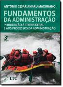 FUNDAMENTOS DA ADMINISTRACAO - 3º ED
