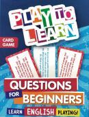 PLAY TO LEARN - JOGO DE CARTAS - PERGUNTAS PARA INICIANTES