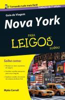 GUIA DE VIAGEM - NOVA YORK PARA LEIGOS - 2ª ED