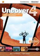 UNCOVER 4A COMBO STUDENT´S BOOK WITH ONLINE WORKBOOK AND ONLINE PRACTICE - 1ST ED