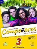 NUEVO COMPANEROS 3 B1.1  - LIBRO DEL ALUMNO CON E CDS AUDIO Y LICENCIA DIGITAL - EDICION BRASIL